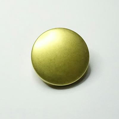 BT1011 汎用ボタン ゴールド 直径15mm 6個入りパック