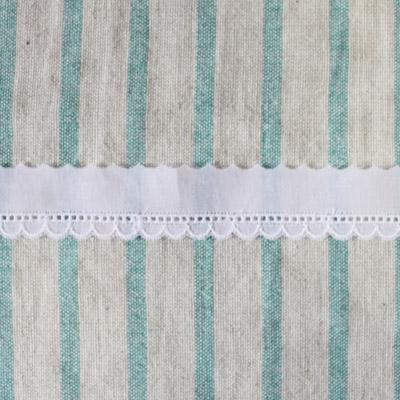 LC0150 綿レース スカラップ 20mm幅(レース部分7mm) ホワイト 1m単位